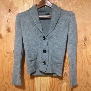 BOGO FWT 🤑 J. CREW Shawl-Neck Chunky Sweater XS